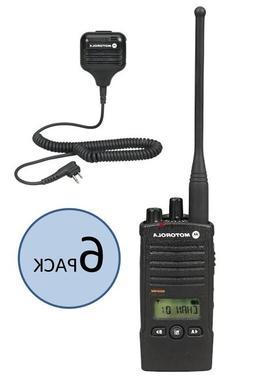6 Motorola RDU4160D Two Way Radio Walkie Talkies with Speake