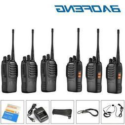 6 X Baofeng BF-888S UHF Walkie Talkie 2 Two Way Radio 16CH 4