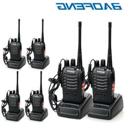 6 x Baofeng BF-888S Two Way Radio 400-470MHz Walkie Talkie S