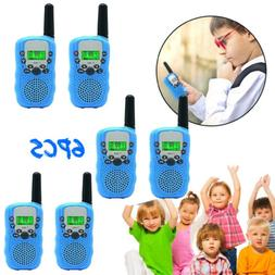 6X 22 Channel Walkie Talkies for Kids Children Two Way Radio