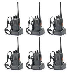 6x Baofeng BF-888S Two Way Radio Walkie Talkie UHF 400-470MH