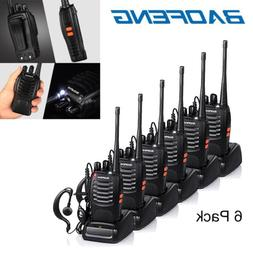 6x Baofeng BF-888S Two Way Radio Walkie Talkie UHF 400-470MH