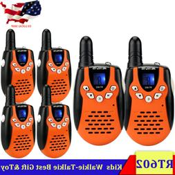 6XRetevis RT602 Walkie Talkies Rechargeable 22CH FRS VOX 2Wa