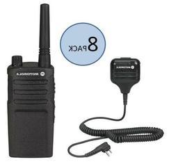 8 Motorola RMU2040 Two Way Radio Walkie Talkies with Speaker