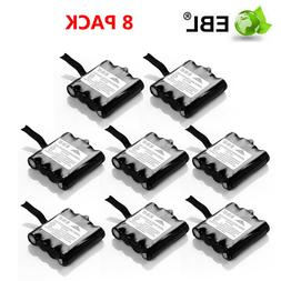 8PCS EBL 700mAh Two Way Radio Battery for Midland BATT6R BAT