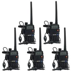 BaoFeng UV-5R UHF VHF Dual Band Two Way Radio Walkie Talkie