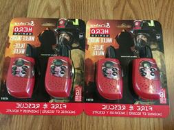 Cobra - Hero Series 22-channel Frs 2-way Radios  - Red