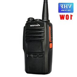 LUITON LT-188H VHF Walkie Talkie 10W for Hiking, Camping wit