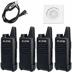 Retevis RT-5R Walkie Talkies Long Range Rechargeable 5W 128C