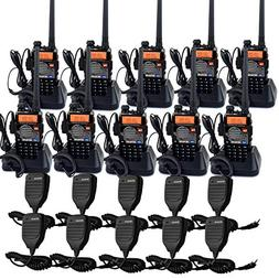 Retevis RT-5RV 2 Way Radios 5W VHF/UHF Radio 128CH Dual Band