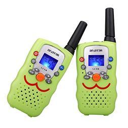 Retevis RT32 Kids Walkie Talkies 0.5W 22 Channels FRS UHF VO