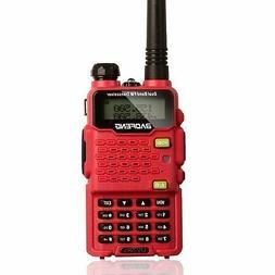 Two Way Radio,Baofeng Walkie Talkie UV-5R5 5W Dual-Band Two-