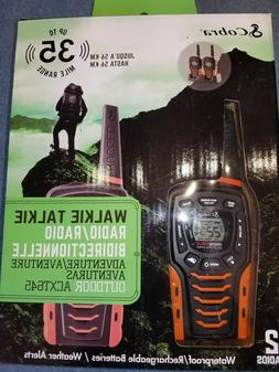 COBRA ACXT645-35 MILES RANGE-WATERPROOF-RECHARGEABLE-RUGGED-