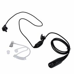 Air-Tube Acoustic Headset with PTT & VOX for Motorola Walkie