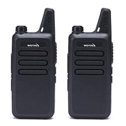 Walkie Talkies LT-316 Outdoor Camping Hiking Hunting Uhf Min