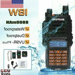 Baofeng 18W UV-9R Plus 2 Way Walkie Talkie UHF VHF Long Rang