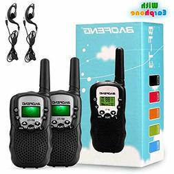 BaoFeng 2 Pack BF-T3 Handheld Kids Walkie Talkies 3 Miles Ra