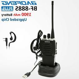 BAOFENG BF-888S Plus 400-470MHz UHF 2 Way FM Walkie Talkie H