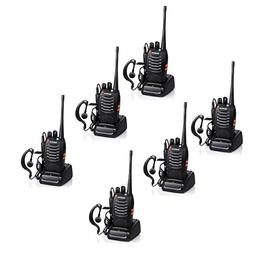 Baofeng BF-888S Rechargeable Long Range 5W Two Way Radio Wal
