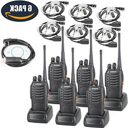 BaoFeng BF-888S Two Way Radio with Built in LED FlashLight