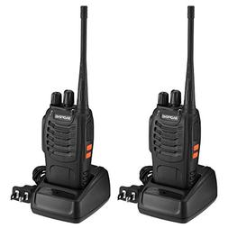 BaoFeng BF-888S Walkie Talkies 16 Channels Long Range VHF/UH