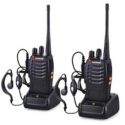 Baofeng BF-888S Walkie Talkies Adults Long Range Two Radios