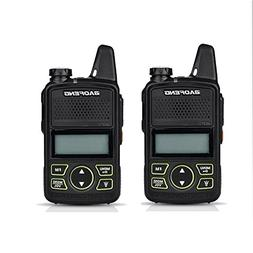 2PCS Original BAOFENG BF-T1 MINI Walkie Talkie UHF 400-470mh