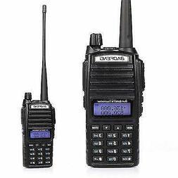 Baofeng Black UV-82 VHF/UHF MHz Dual-Band Ham Walkie Talkies