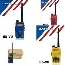 BAOFENG UV-5R walkie talkie Dual Band LCD Screen 4 colors pr
