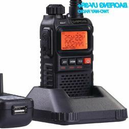 Baofeng UV3R+ Walkie Talkies Dual Band UHF/VHF Ham CTCSS Han