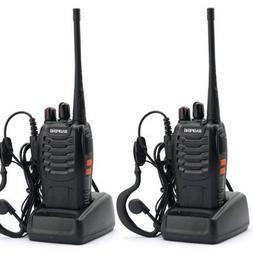 Nestling 2PCS 400-470 MHz BaoFeng Walkie Talkie Two Way Radi