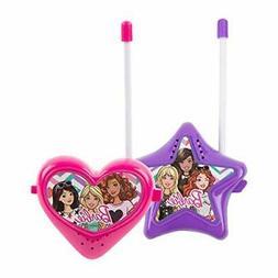 Sakar Barbie Pink and Purple Indoor/Outdoor Walkie Talkies