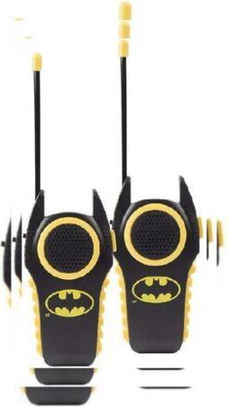 Batman 12383 Molded Walkie Talkies for Kids Flexible Saftey