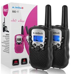 Bobela Best Walkie-Talkies for Adults Travel - T-388 Handhel