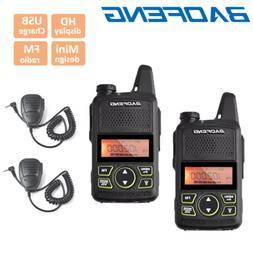BAOFENG BF-F8+ Dual Band VHF UHF 2 Way Radio FM Walkie Talki