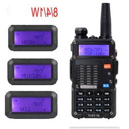 Baofeng BF-F8HP 8W Walkie Talkie Dual Band TRI-POWER  Two Wa
