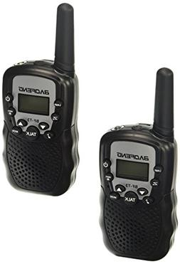BaoFeng BF-T3 Black 1 Pair Kids Walkie Talkie Two Way Radio,