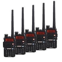 "BaoFeng BF-UV5R 1.5"" LCD 5W 400-470MHz 16-CH Handheld Walkie"
