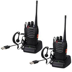 BaoFeng BF-888S USB Rechargeable Walkie Talkies Long Range U