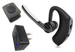 Bluetooth Walkie Talkie Headset DSP HD Earpiece HT - Compati