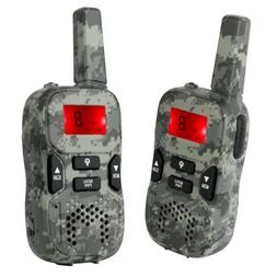 Camouflage Rechargeable Walkie Talkies for Kids Gifts Toys 4
