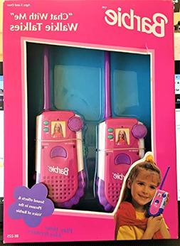 BARBIE CHAT WITH ME WALKIE TALKIES