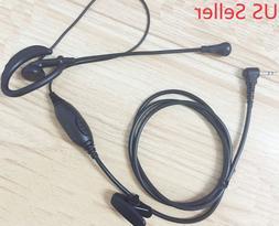Clip Ear Headset/Earpiece Mic VOX Cobra Radio CXT 1035R FLT