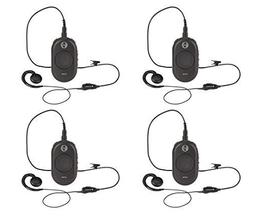 4 Pack of Motorola CLP1040 On-Site Business Two-Way Radio 4