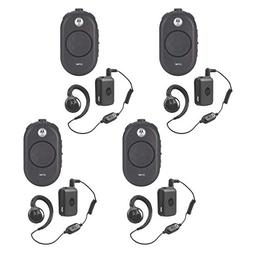 4 Pack of Motorola CLP1060 Business Two-Way Radio with Bluet