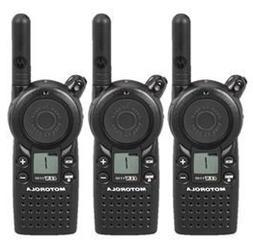 3 Pack of Motorola CLS1110 Two Way Radio Walkie Talkies