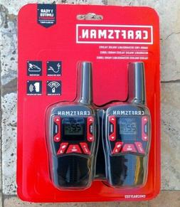 🌟🎈 Craftsman CMXZRAZF333 Hands Free Rechargable Walkie