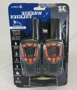 Cobra CXT565 2-Pack 2-Way / Weather Radio Walkie Talkies 32-