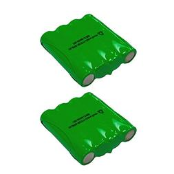 2 Pack Cobra Two Way Radio Battery FA-BP - Compatible with C