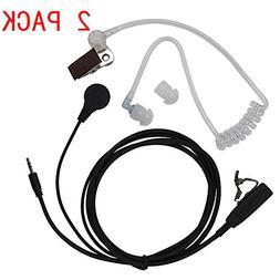 Caroo 1 Pin Covert Acoustic Tube Earpiece Headset for Cobra
